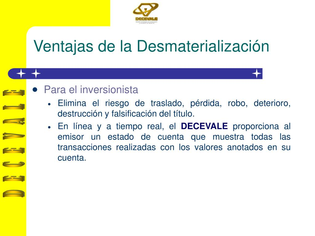 Ventajas de la Desmaterialización