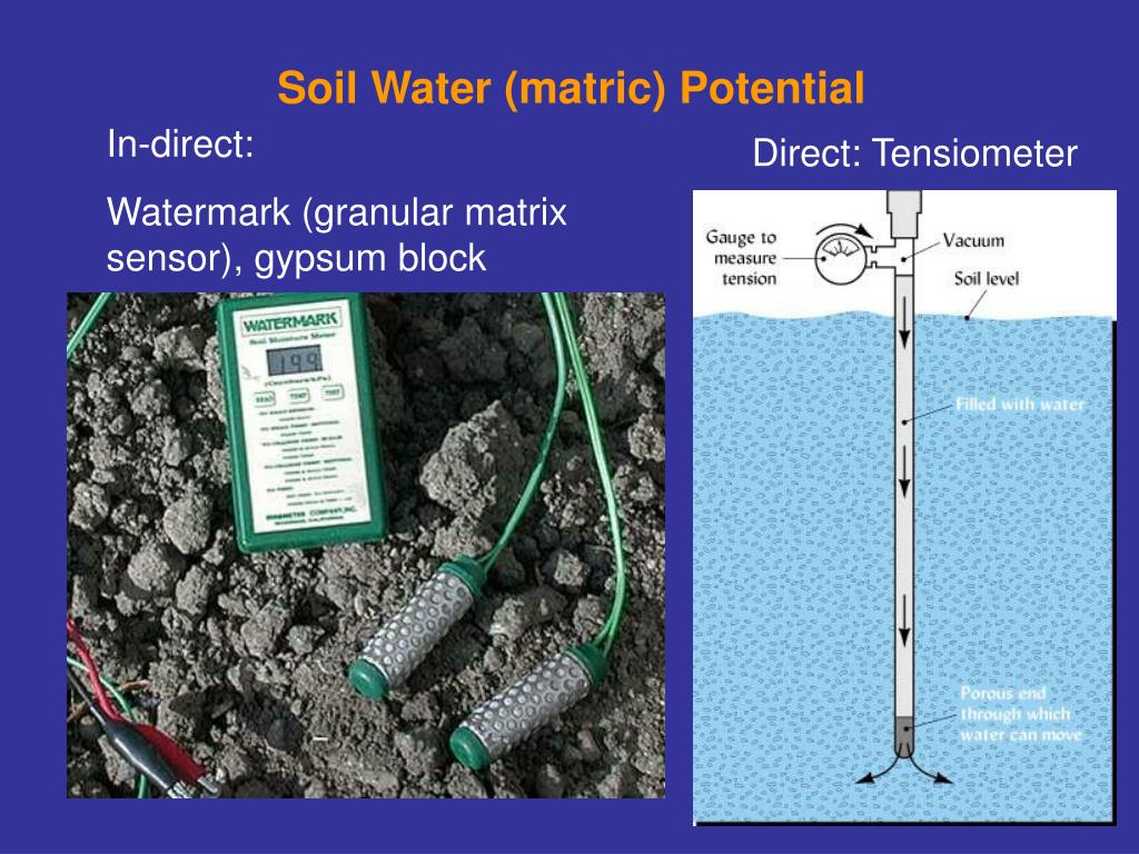 Soil Water (matric) Potential