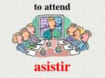 to attend