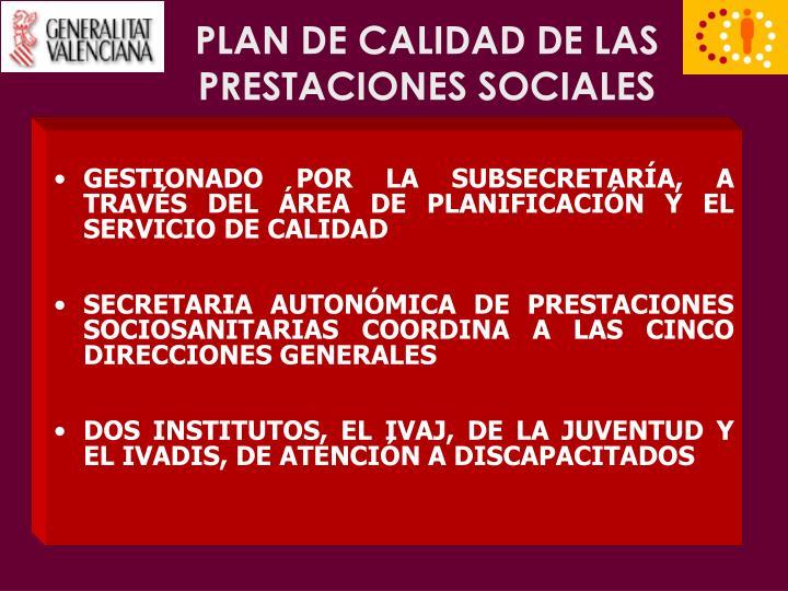 Plan de calidad de las prestaciones sociales3