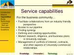 service capabilities7