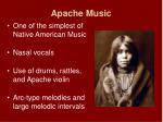 apache music