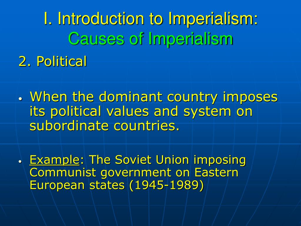 introduction to culture and imperialism Get an answer for 'what is the main crux of edward said's introduction to culture and imperialism ' and find homework help for other culture and imperialism questions at enotes.
