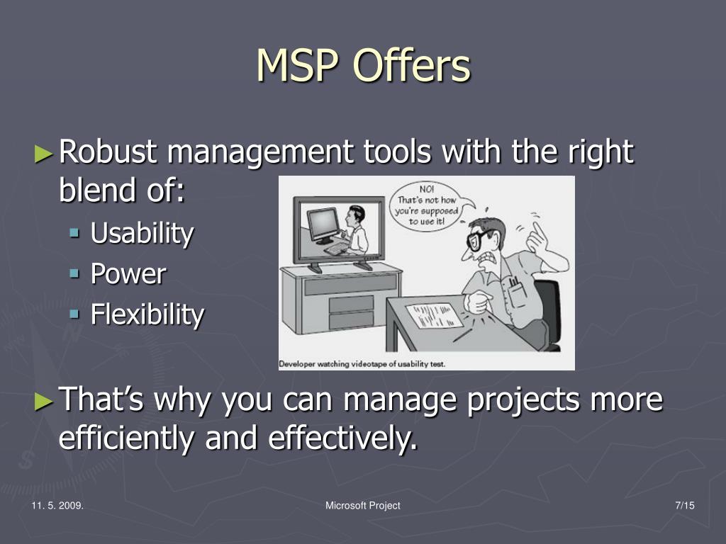 MSP Offers