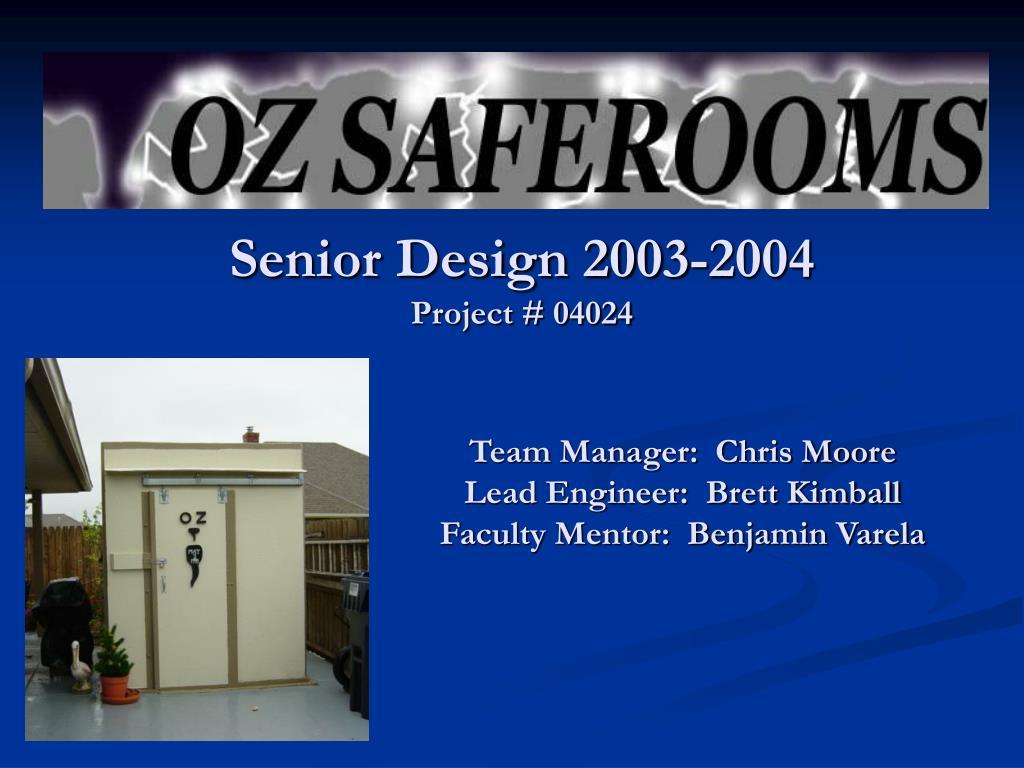 senior design 2003 2004 project 04024 l.