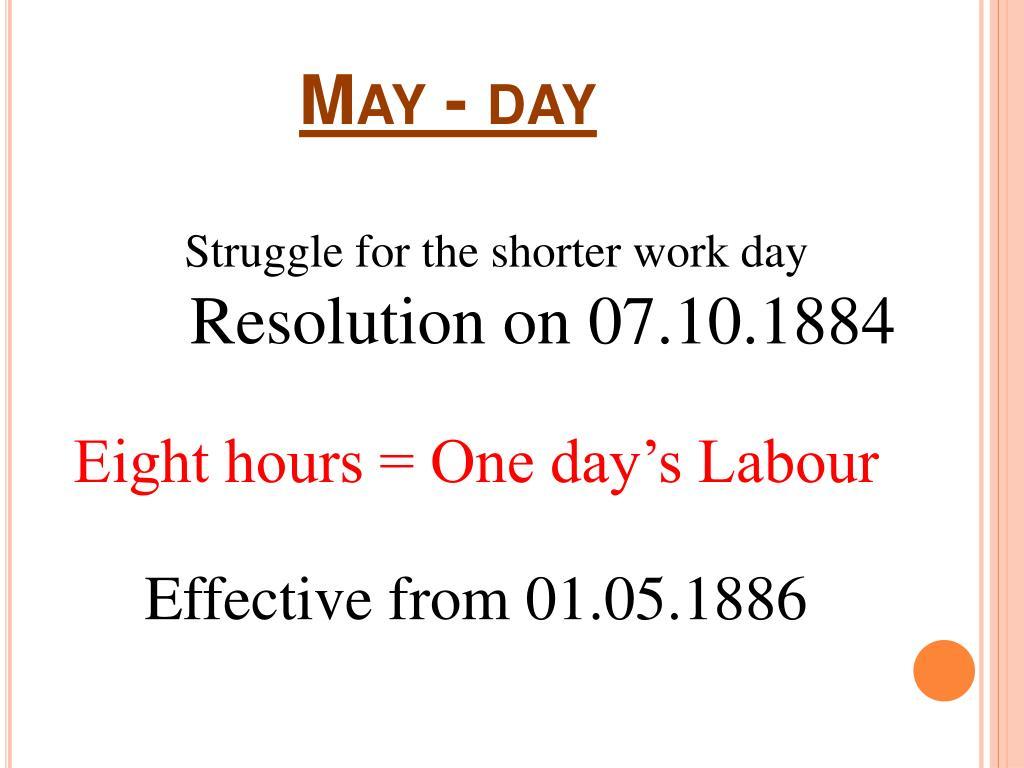 May - day