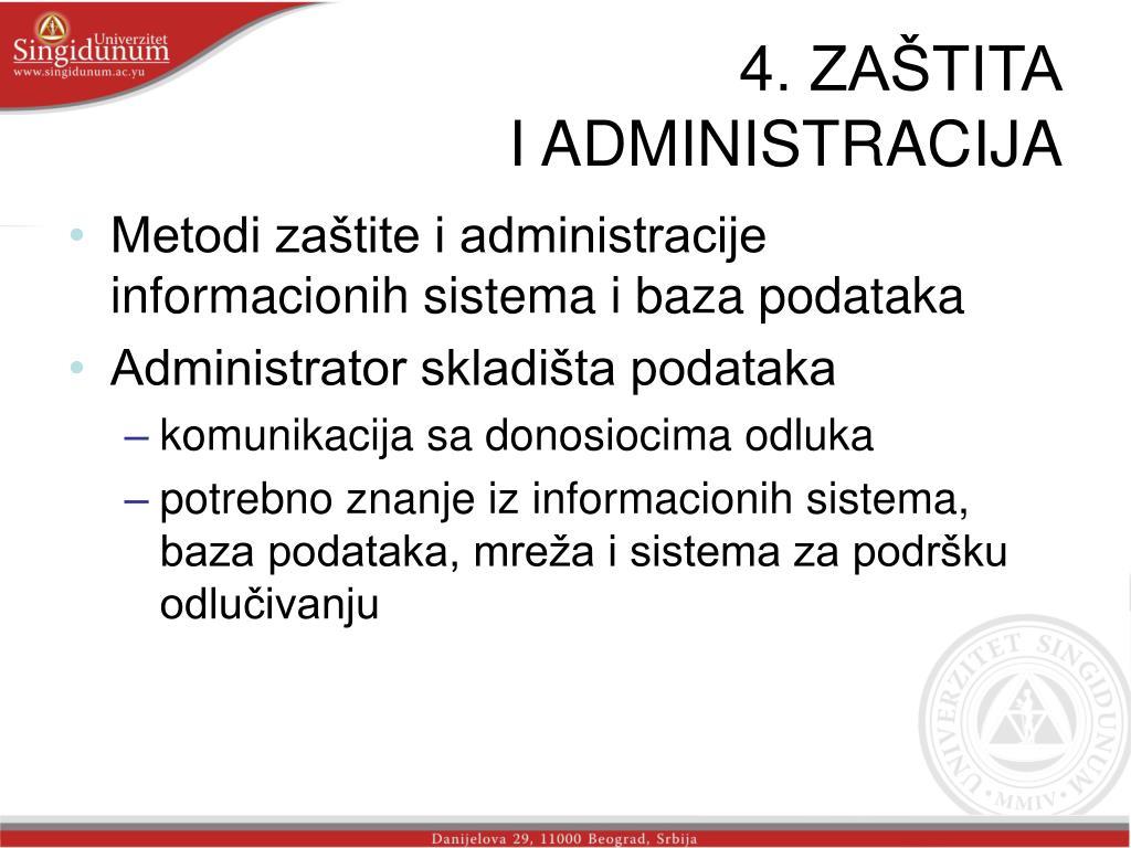 4. ZAŠTITA