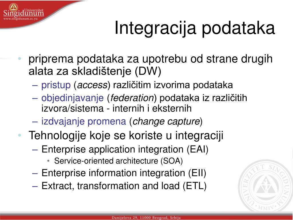 Integracija podataka