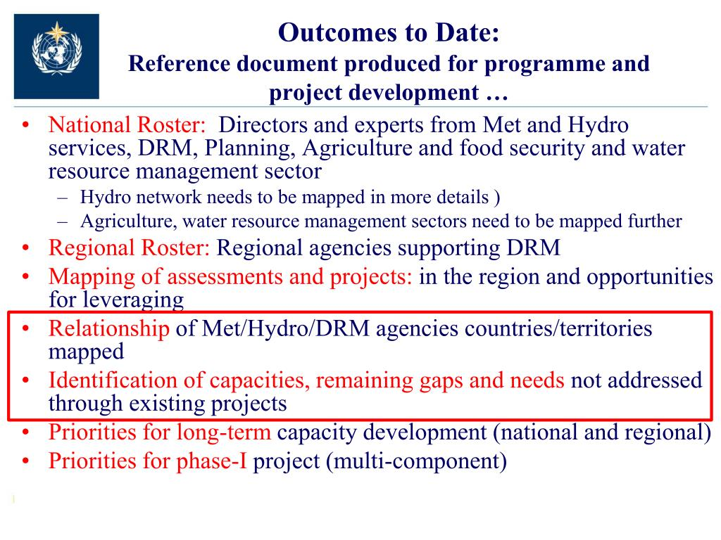 Outcomes to Date: