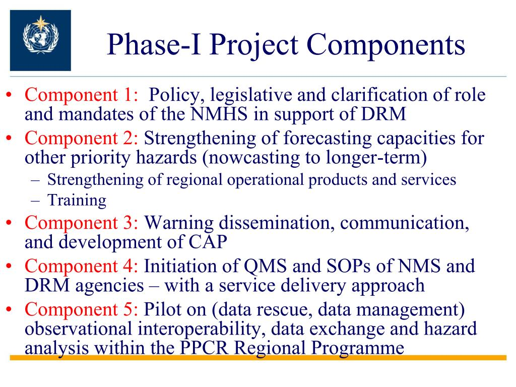 Phase-I Project Components