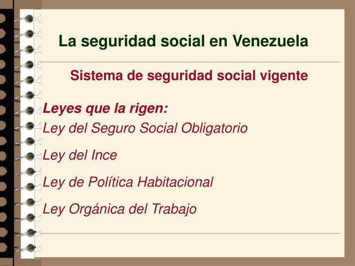 La seguridad social en venezuela2