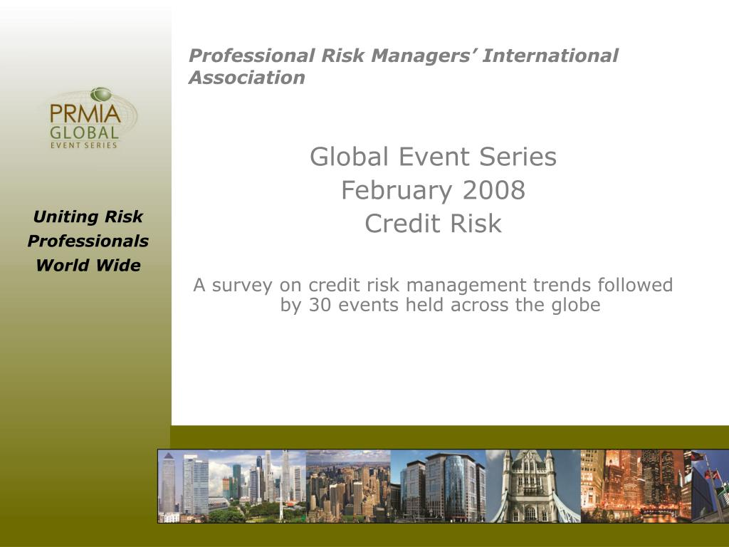 professional risk managers international association l.