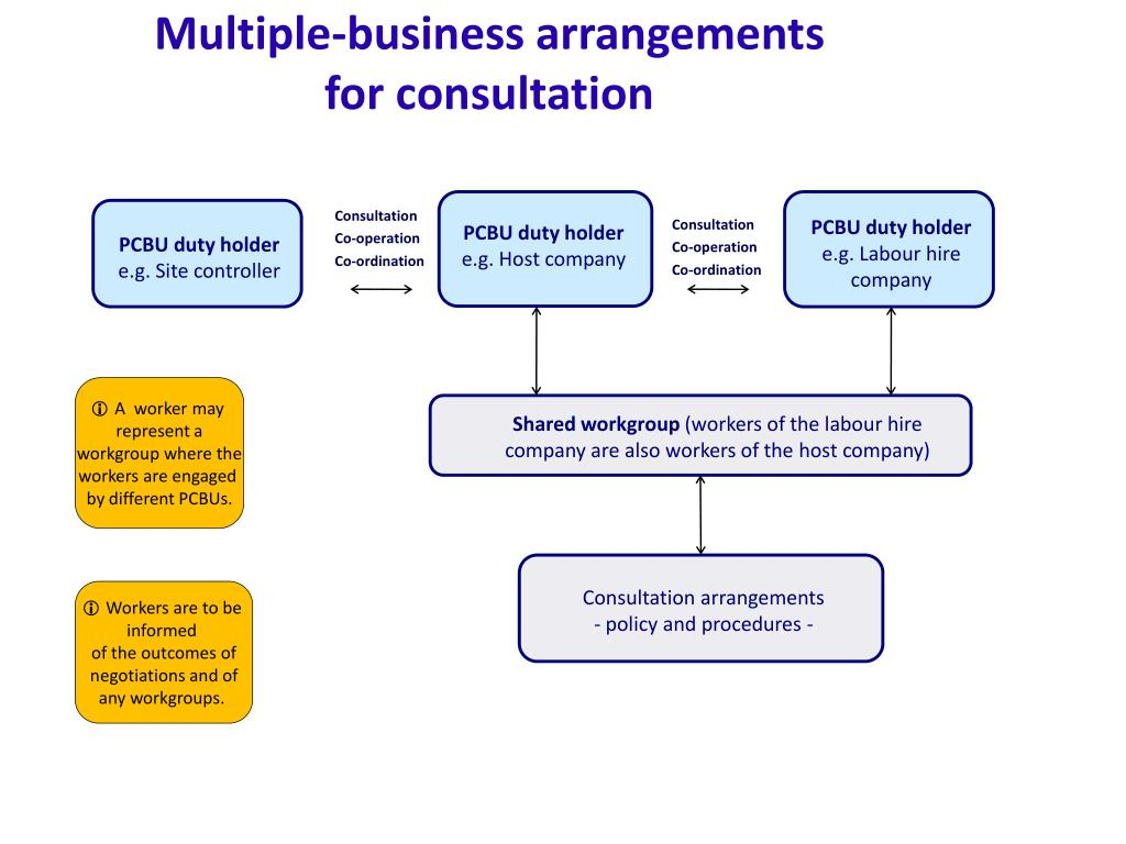 Multiple-business arrangements