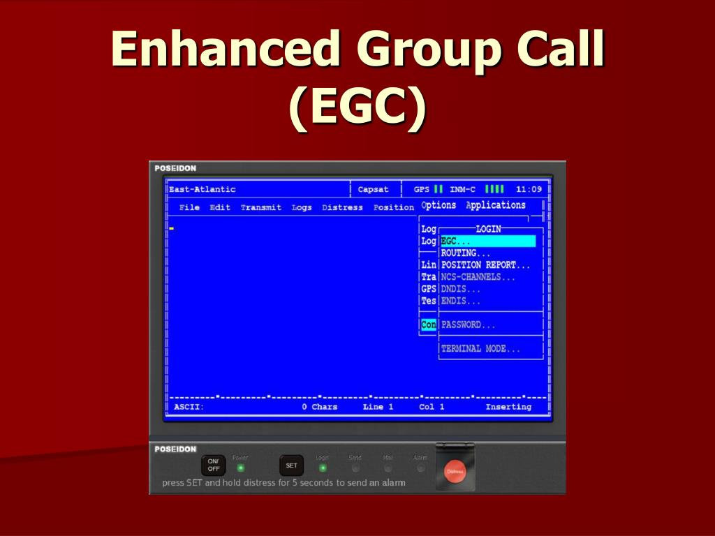 enhanced group call egc l.