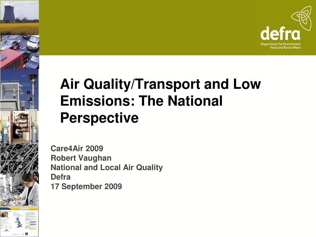 air quality transport and low emissions the national perspective l.