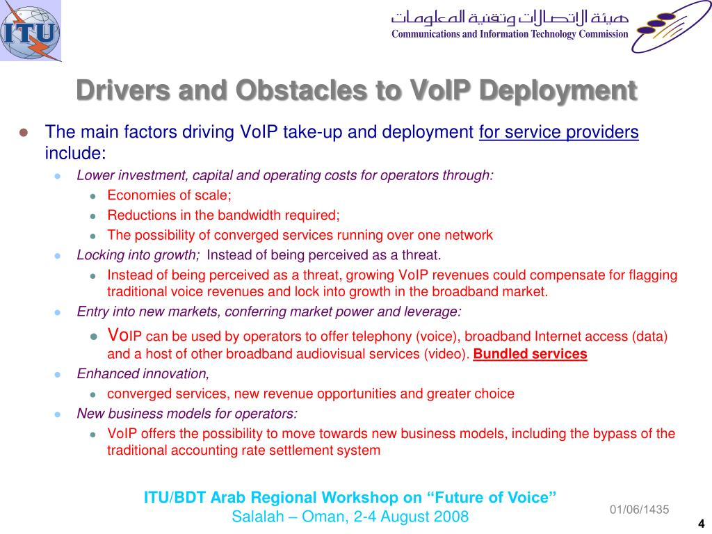 PPT - The Status 0f Voice Over Internet Protocol (VoIP) Worldwide