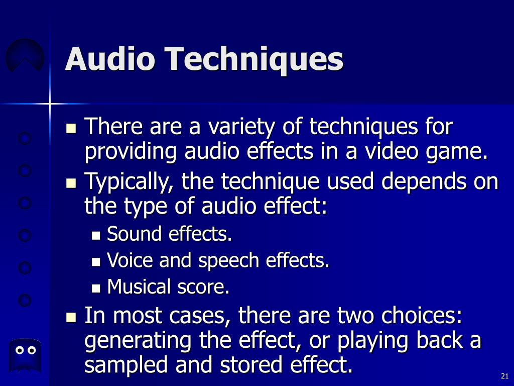 Audio Techniques