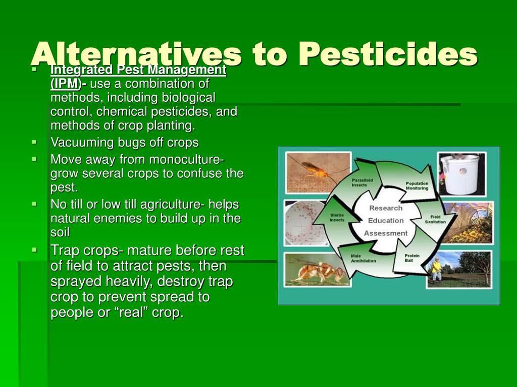 Alternatives to Pesticides