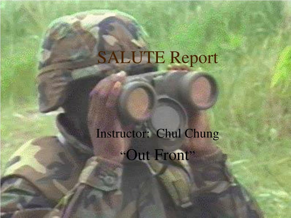 salute report l.