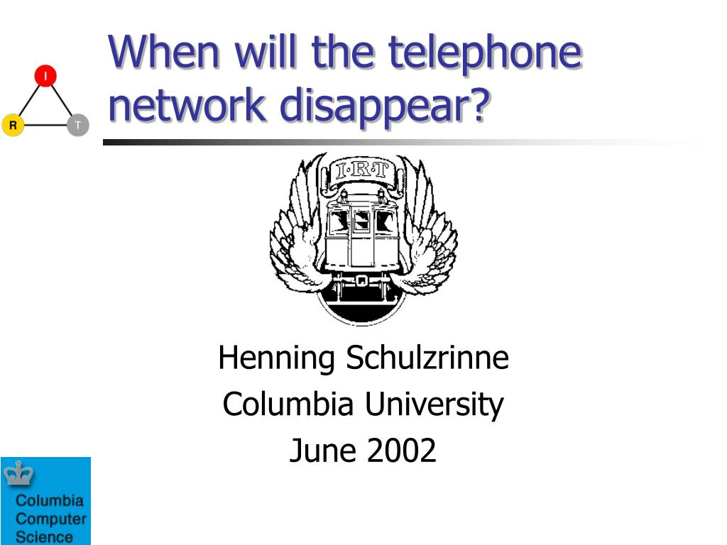 when will the telephone network disappear l.