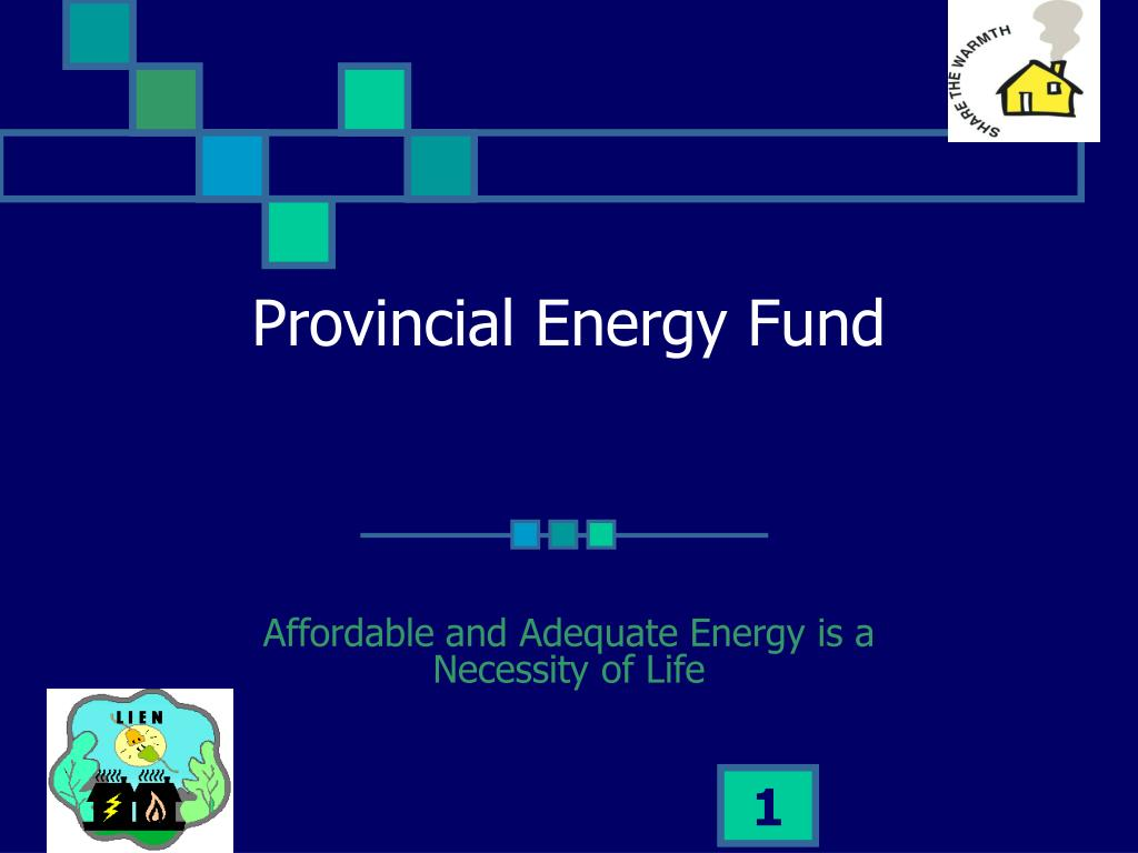 provincial energy fund l.