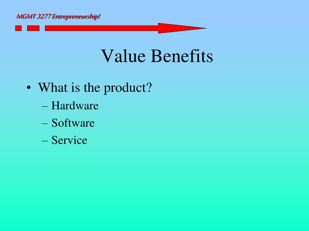 Value Benefits
