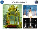 m 3 on chandrayaan 1