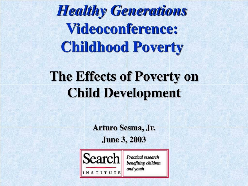 healthy generations videoconference childhood poverty l.