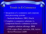 trends in e commerce