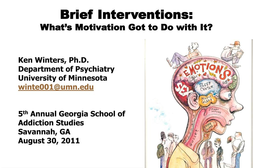brief interventions what s motivation got to do with it l.