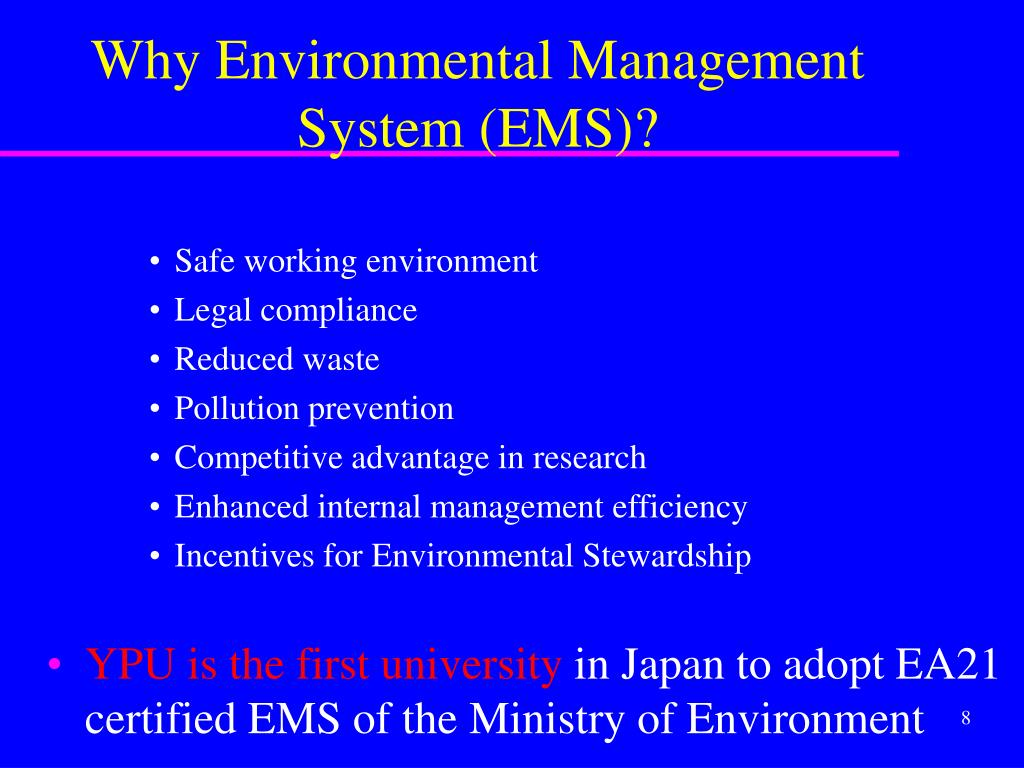 PPT - A welcoming introduction to the environment management