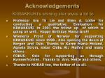 acknowledgements kiwakkuki s shining star owes a lot to