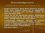 acknowledgements kiwakkuki s shining star owes a lot to34