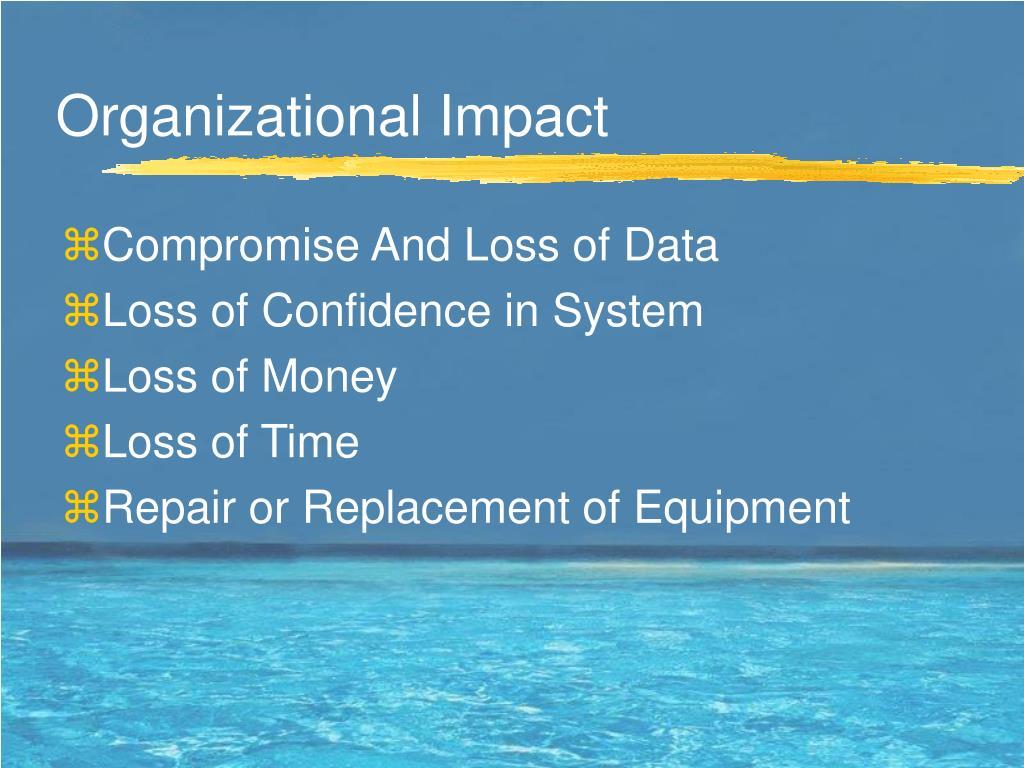 Organizational Impact