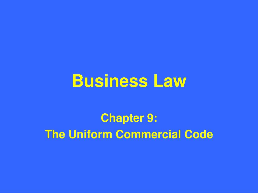 business law l.