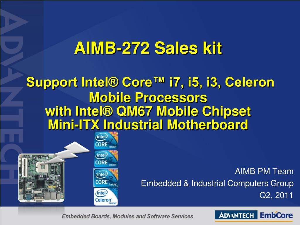 Advantech AIMB-272 Realtek HD Audio Drivers for Mac Download