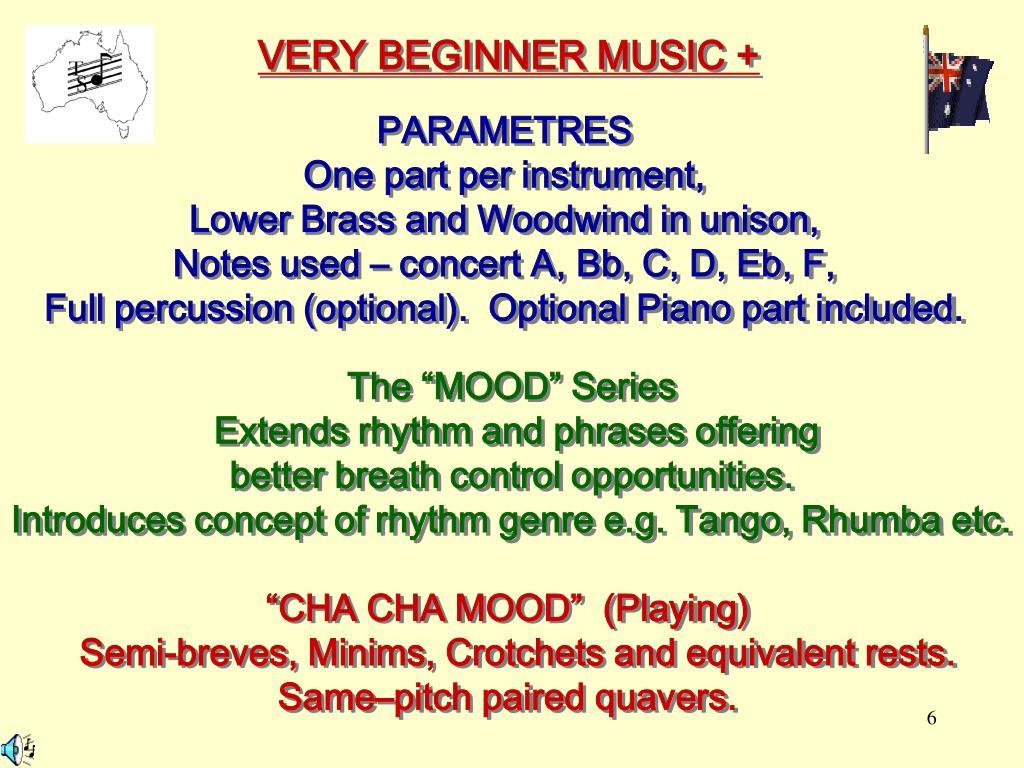 VERY BEGINNER MUSIC +