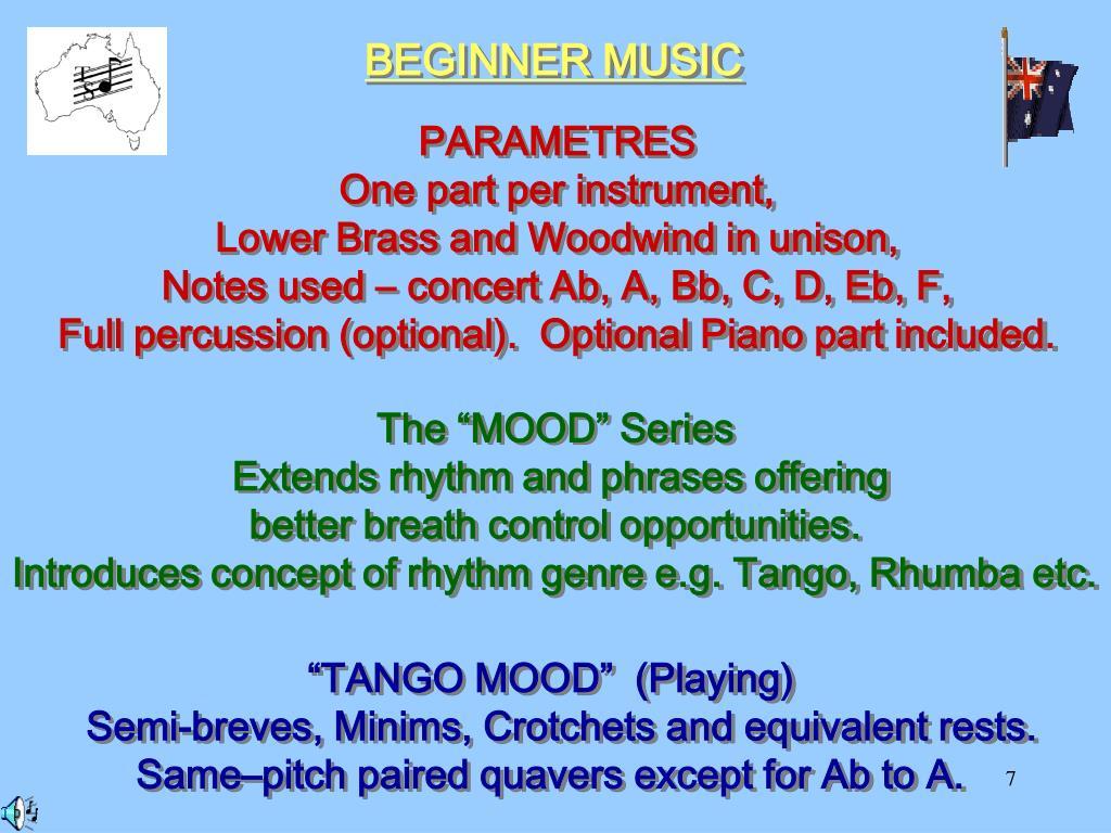 BEGINNER MUSIC