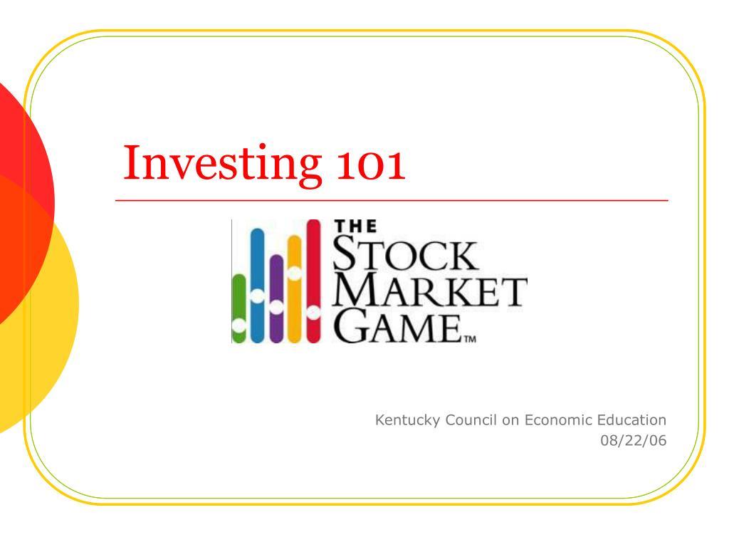 investing 101 l.