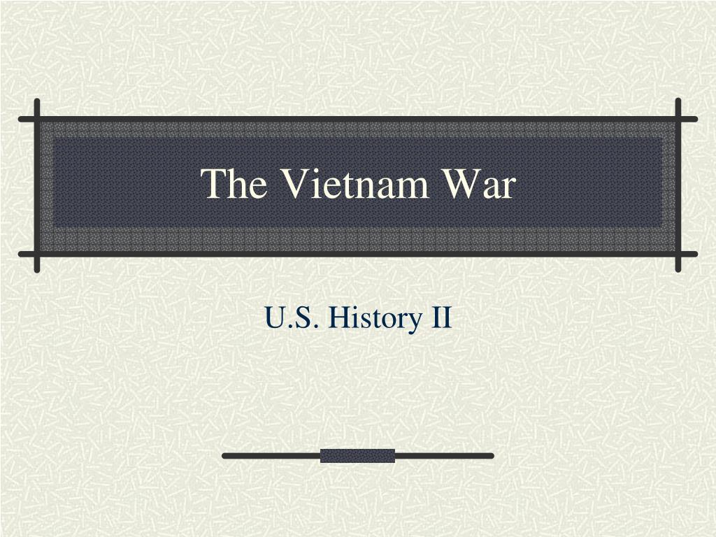 the vietnam war l.
