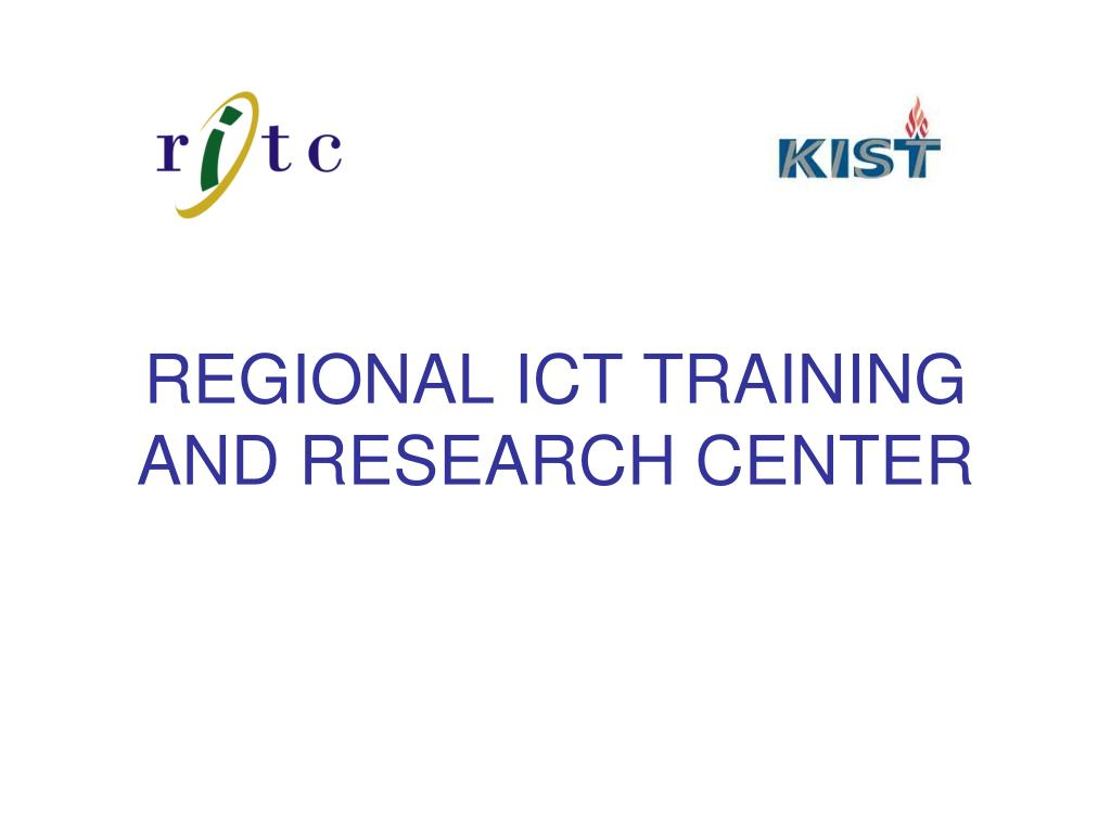 regional ict training and research center l.