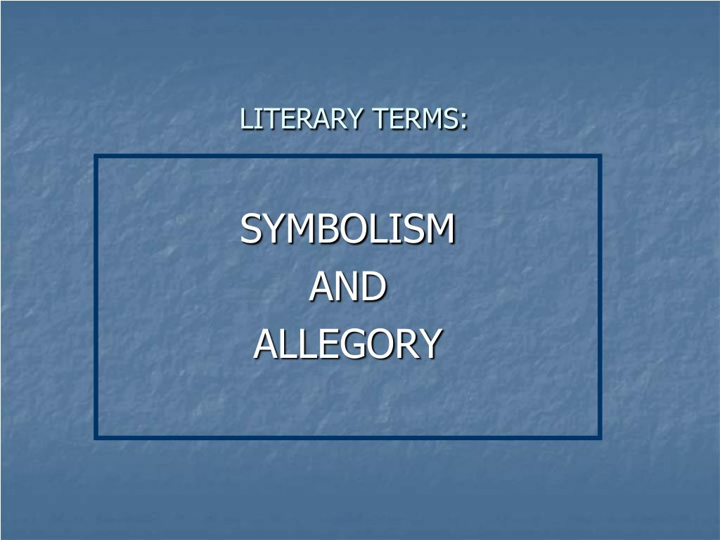 literary terms l.
