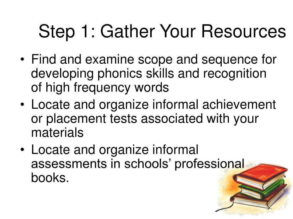 Step 1: Gather Your Resources