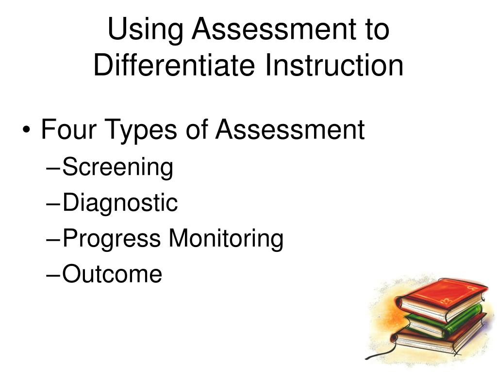 Using Assessment to Differentiate Instruction