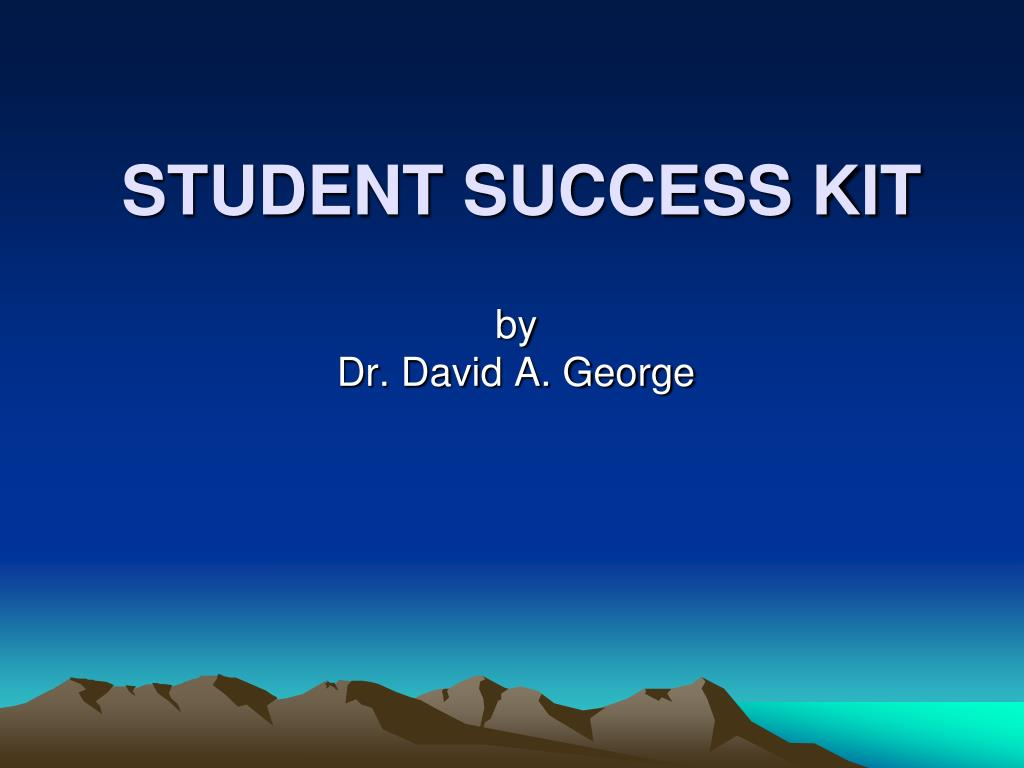 student success kit l.