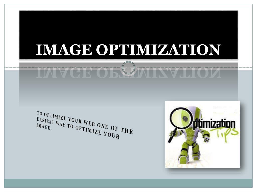 image optimization l.