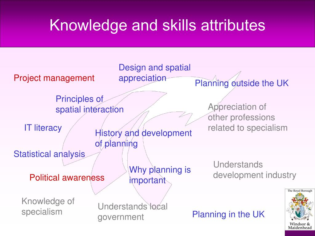 Knowledge and skills attributes