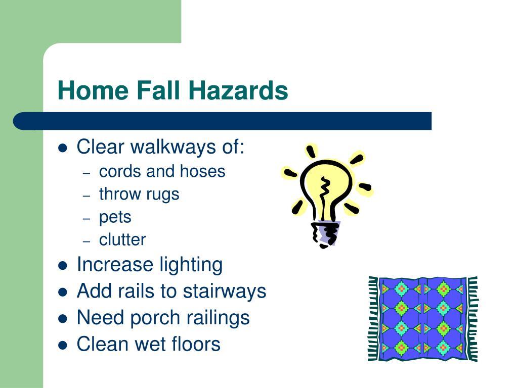 Home Fall Hazards