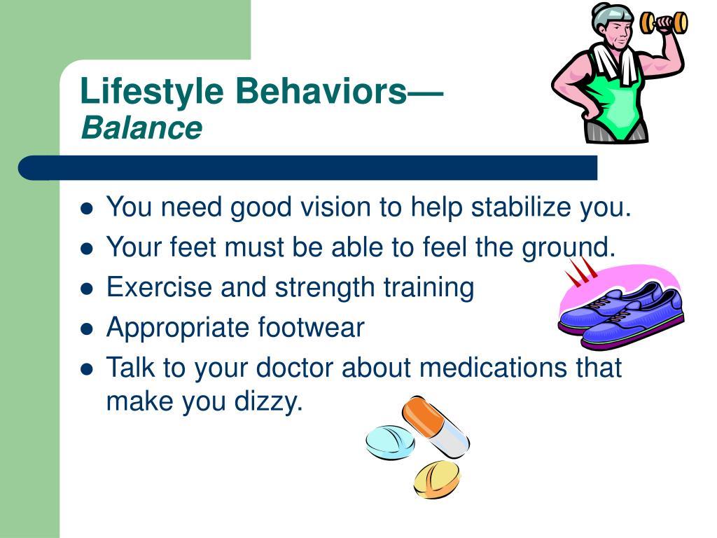 Lifestyle Behaviors—