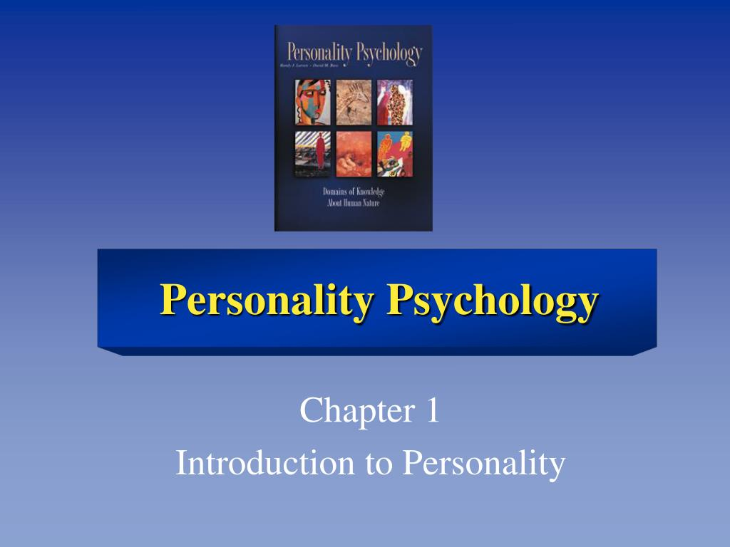 chapter 1 introduction to personality l.